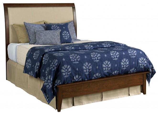 Gatherings Cinnamon King Meridian Bed