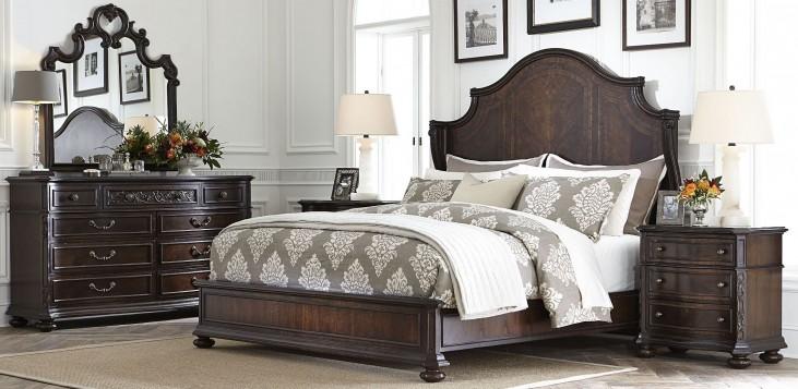 Casa D'Onore Sella Wood Panel Bedroom Set