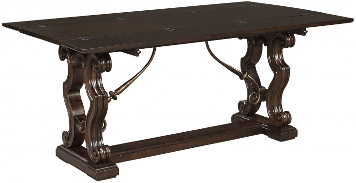 Casa D'Onore Sella Flip Top Console Table