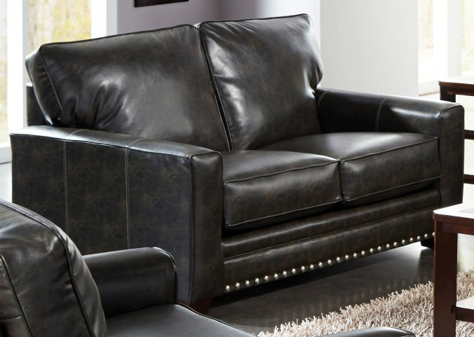 Elmsford Coal Loveseat
