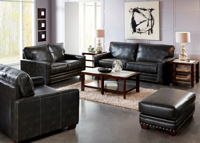 Elmsford Coal Living Room Set