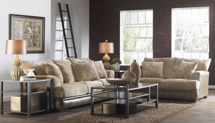 Barkley Toast Living Room Set