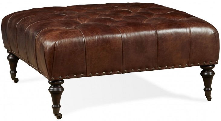 Dillon Milan Chocolate Cocktail Ottoman
