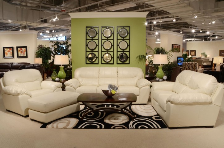 Grant Ice Living Room Set