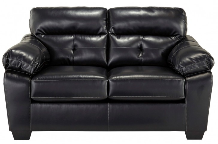 Bastrop Durablend Midnight Loveseat