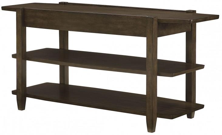 Alba Graphite Oak Sofa Table