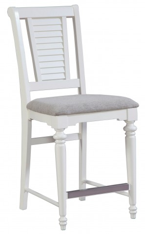Seabrooke Upholstered Seat Counter Stool