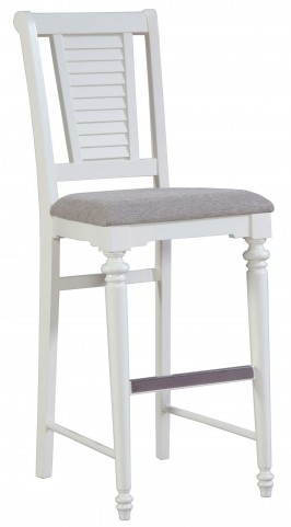 Seabrooke Upholstered Seat Bar Stool