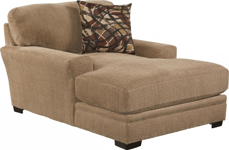 Prescott Oatmeal and Brick Chaise