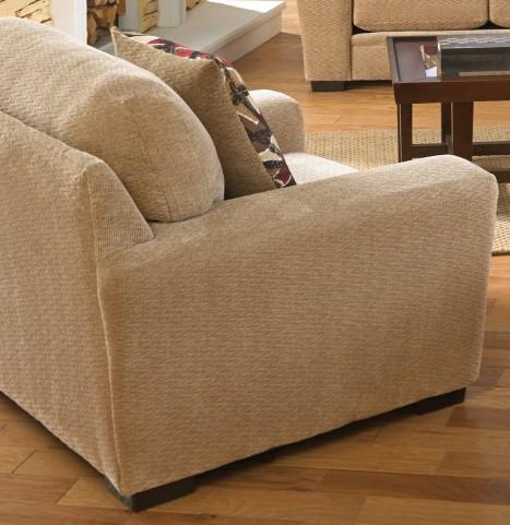Prescott Oatmeal and Brick Chair