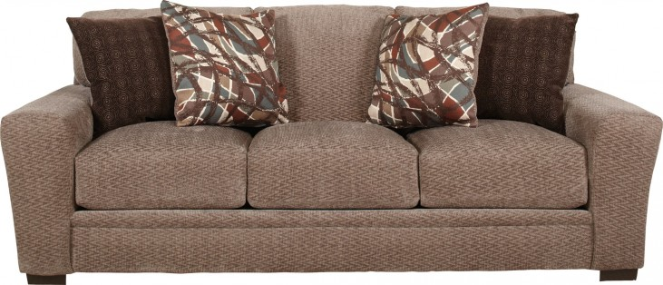 Prescott Otter and Cajun Sofa