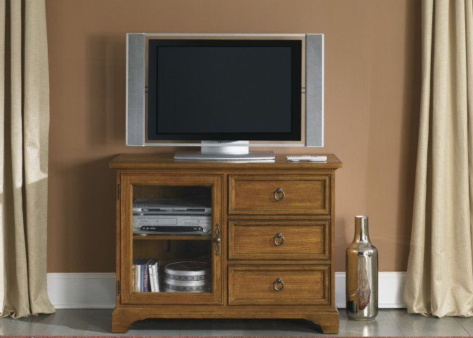 Beacon Oak 44 Inch TV Console