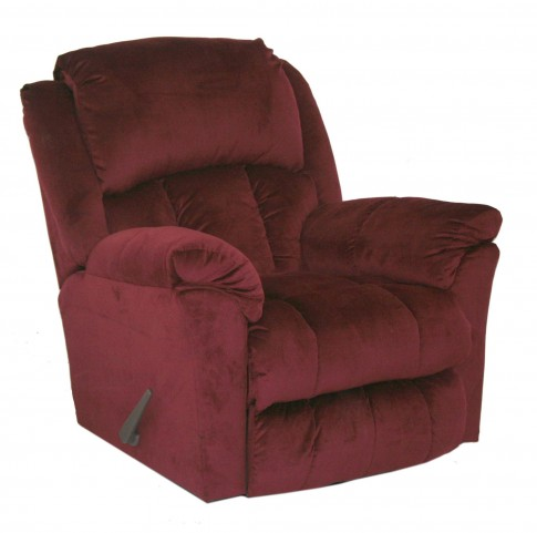 Gibson Berry Lay Flat Recliner
