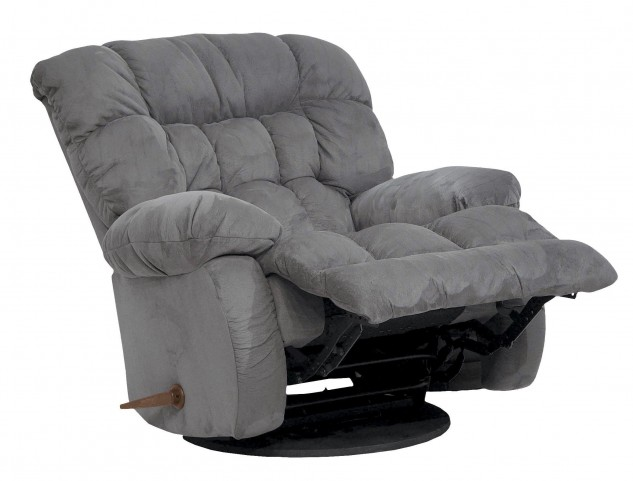 Teddy Bear Graphite Inch-Away Recliner
