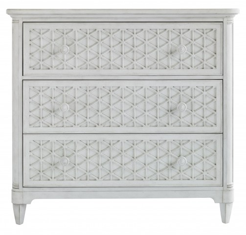 Coastal Living Parchment Cypress Grove Media Chest