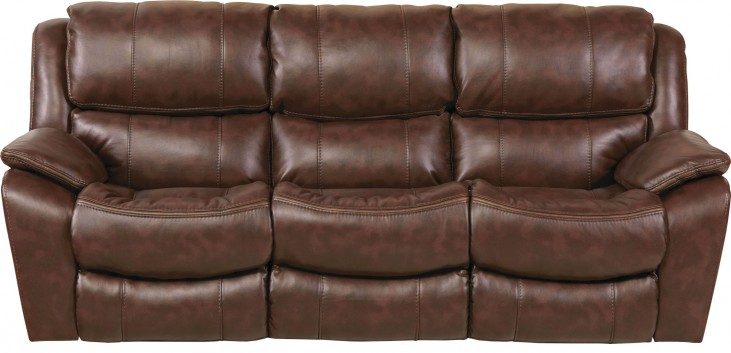 Beckett Java Reclining Sofa
