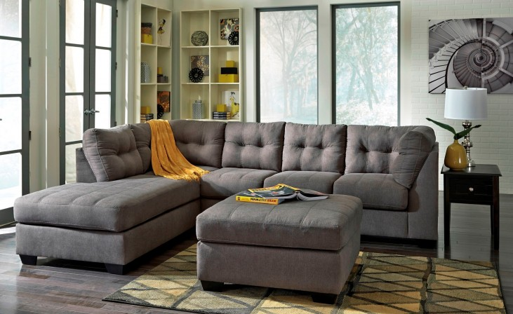 Maier Charcoal LAF Sectional