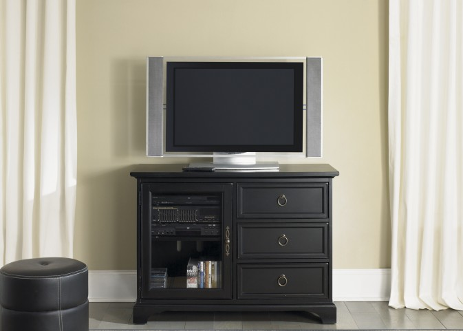 Beacon Black 44 Inch TV Console