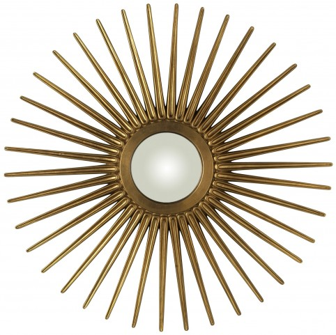 Heather Sunburst Mirror