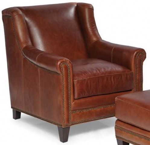 Pendleton Trends Coffee Leather Chair