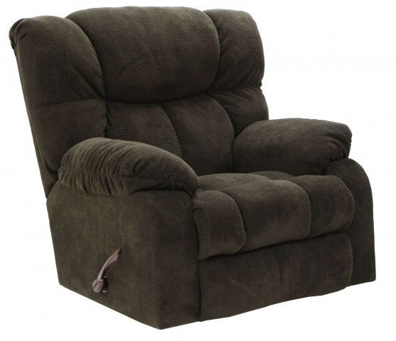 Popson Chocolate Rocker Recliner
