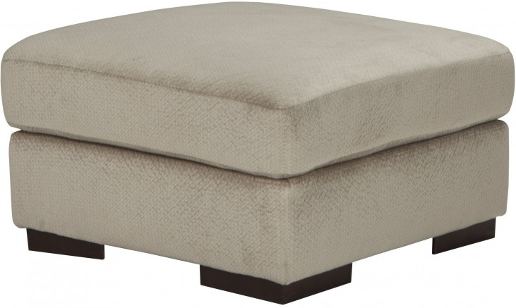 Arminio Oversized Fleece Accent Ottoman