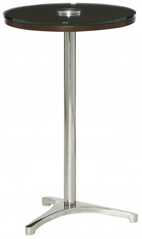 Xpress Sable & Satin Nickel Tripod Table