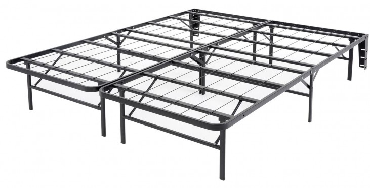 Atlas Black Full Mattress Foundation