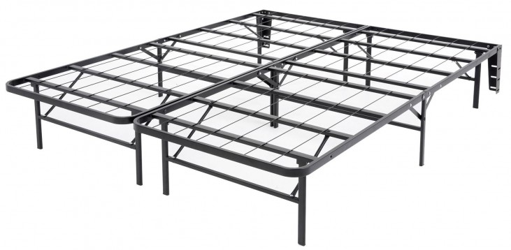 Atlas Black Queen Mattress Foundation