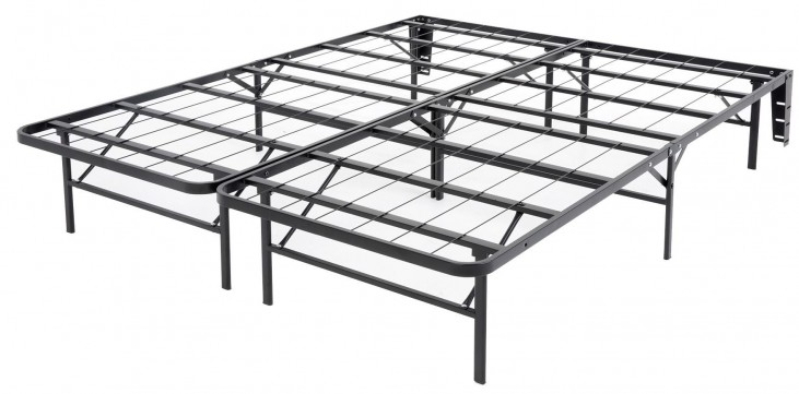 Atlas Black King Mattress Foundation