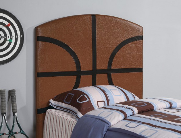 Brown Twin Headboard 460166