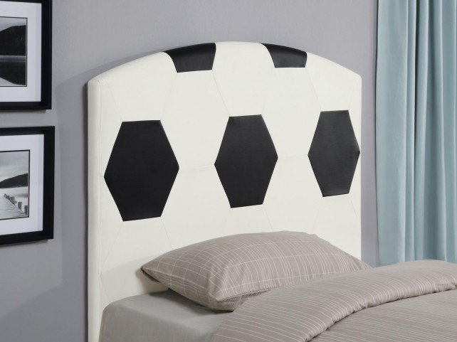 White Twin Headboard 460168
