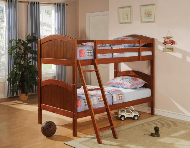 Bunks DarkPine Twin Over Twin Bunk Bed 460203