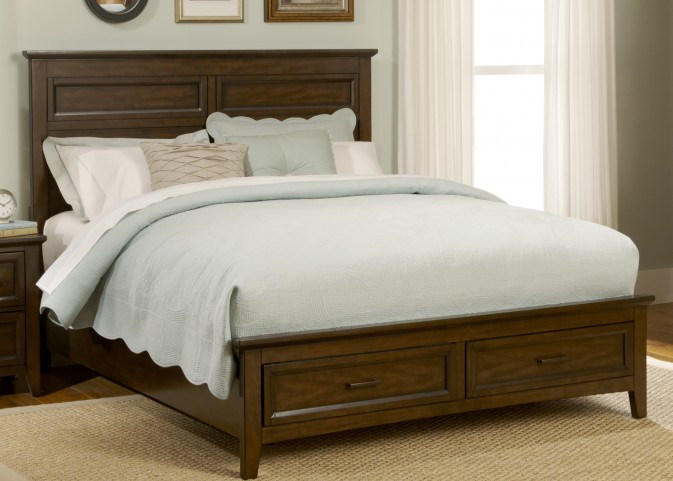 Laurel Creek King Panel Storage Bed