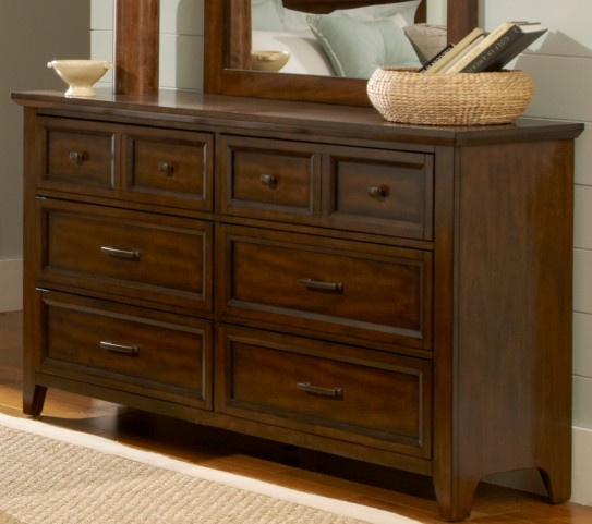 Laurel Creek 6 Drawer Dresser