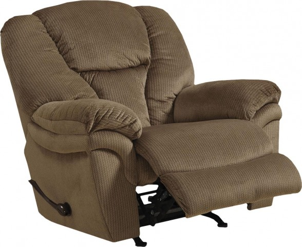 Drew Fawn Lay Flat Chaise Power Recliner