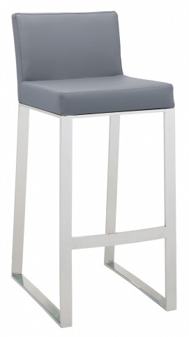 Architect Grey Barstool