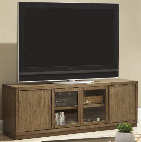 Bennett Pointe Smokey Tan Entertainment TV Stand