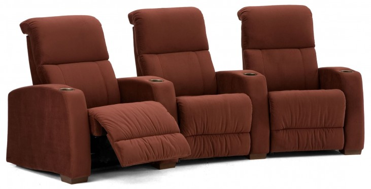 Hifi Upholstered Power Reclining Home Theatre Seating