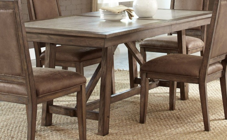 Stone Brook Trestle Table