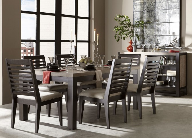 Helix Leg Dining Room Set