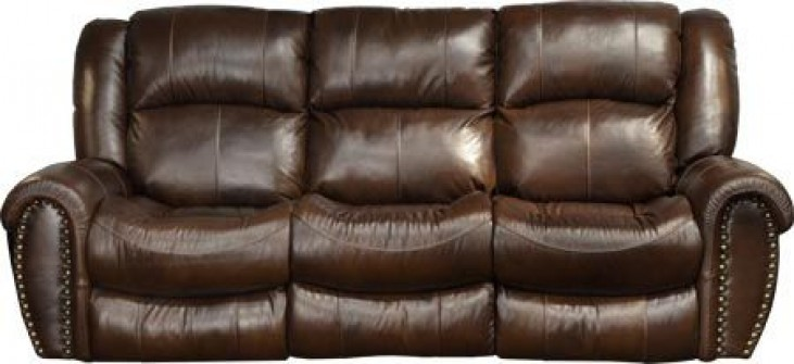 Jordan Tobacco Power Reclining Sofa