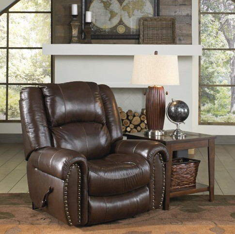Jordan Tobacco Power Recliner