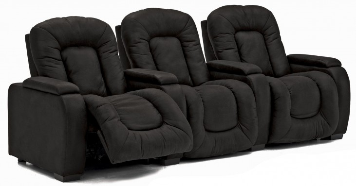 Rhumba Vinyl Power Reclining Home Theatre Seating