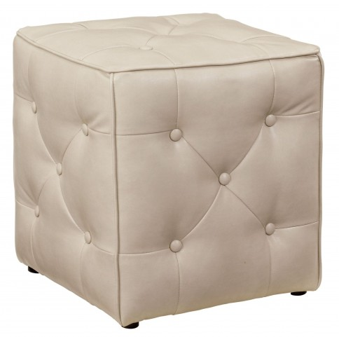 Jive Taupe Accent Ottoman