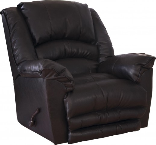 Fillmore Godiva Bonded Leather Recliner