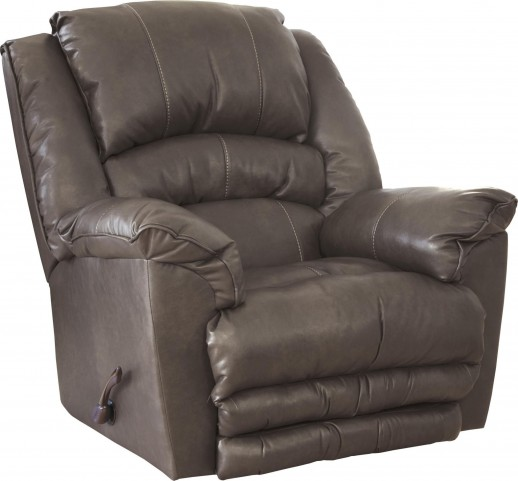 Fillmore Smoke Bonded Leather Recliner