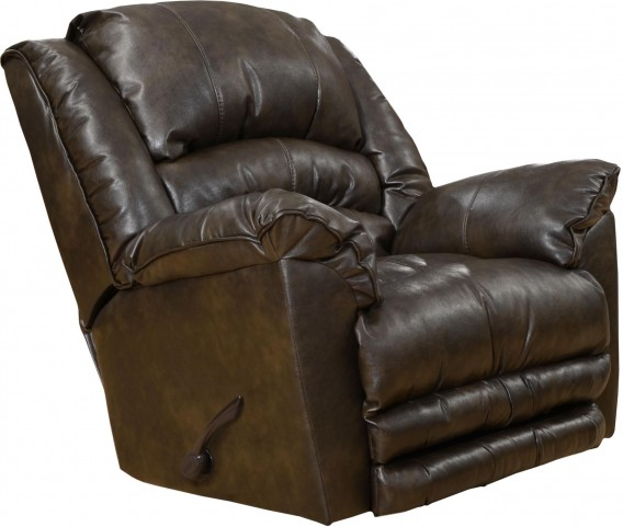Fillmore Timber Bonded Leather Recliner