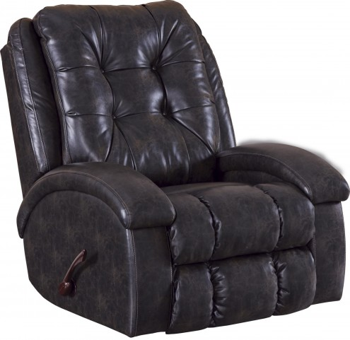 Howell Coal Swivel Glider Recliner