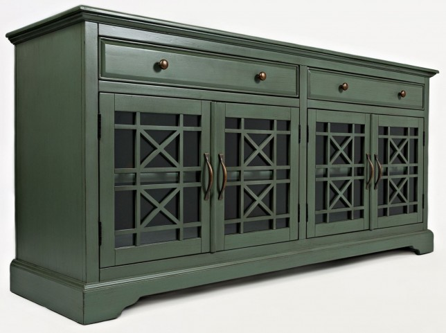 "Craftsman Antique Jade 70"" Media Unit"